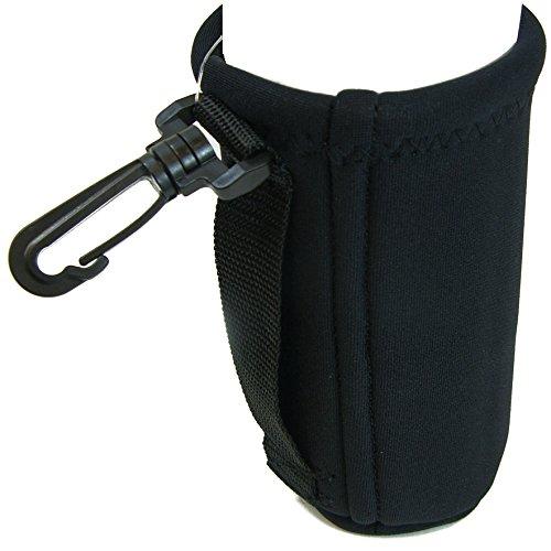Intrepid International Neoprene Water Bottle Carrier, Black