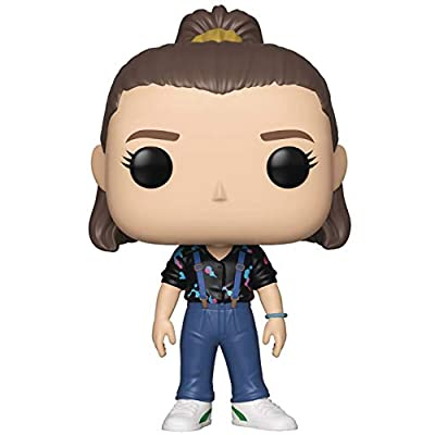 Funko Stranger Things - Eleven with Suspenders Pop! Vinyl Figure (Includes Compatible Pop Box Protector Case): Toys & Games