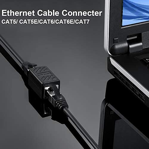 OUYAWEI Good for RJ45 Ethernet Network Connector Double Head Straight LAN Cable Connector CAT 5 5E 6 6A Extender