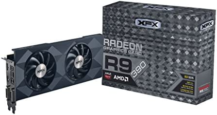 Amazon.com: XFX Black Edition DD Radeon R9 390 1050 MHz 8 GB ...