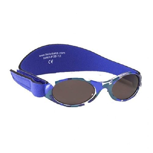 Kidz Banz Adventurer Sunglasses 2-5 Years - Blue Camouflage by Baby Banz