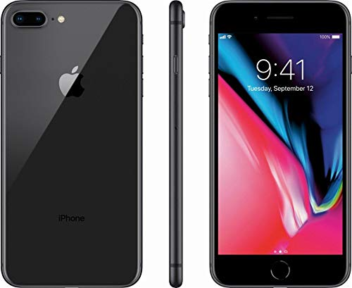 Apple iPhone 8 Plus, 64GB, Space Gray - For Sprint (Renewed)