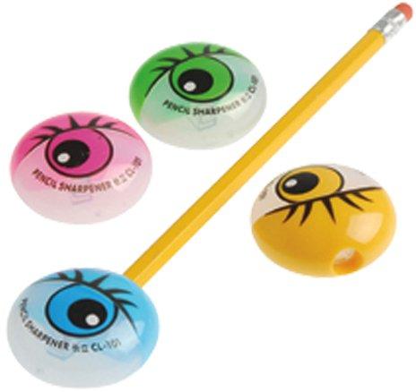 Eyeball Pencil Sharpeners 120 pcs sku# (Eyeball Pencils)