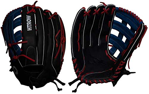 Worth XT Extreme Slowpitch Softball Glove, 15 inch, Pro H Web, Left Hand Throw Custom Pro Fielders Glove