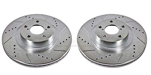 - Power Stop JBR1165XPR Front Evolution Drilled & Slotted Rotor Pair
