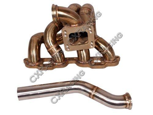- CXRacing Top Mount Turbo Manifold For S13 S14 SR20DET SR20 240Z 260Z 280Z Swap
