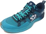 Salming Kobra 2 Mens Indoor Court Squash Badminton Shoes Trainers - Blue - 9UK