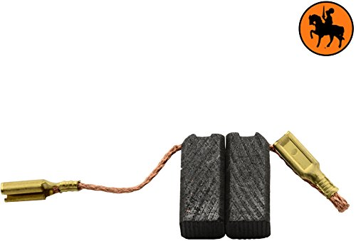 Buildalot Specialty Carbon Brushes 0629_Flex_LW1503S for Flex LW1503S Powertools - With Spring, Cable and Connector - Replaces 264571, 267414, K53 & K56