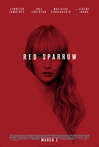 RED SPARROW MOVIE POSTER 2 Sided ORIGINAL FINAL 27x40 JENNIF