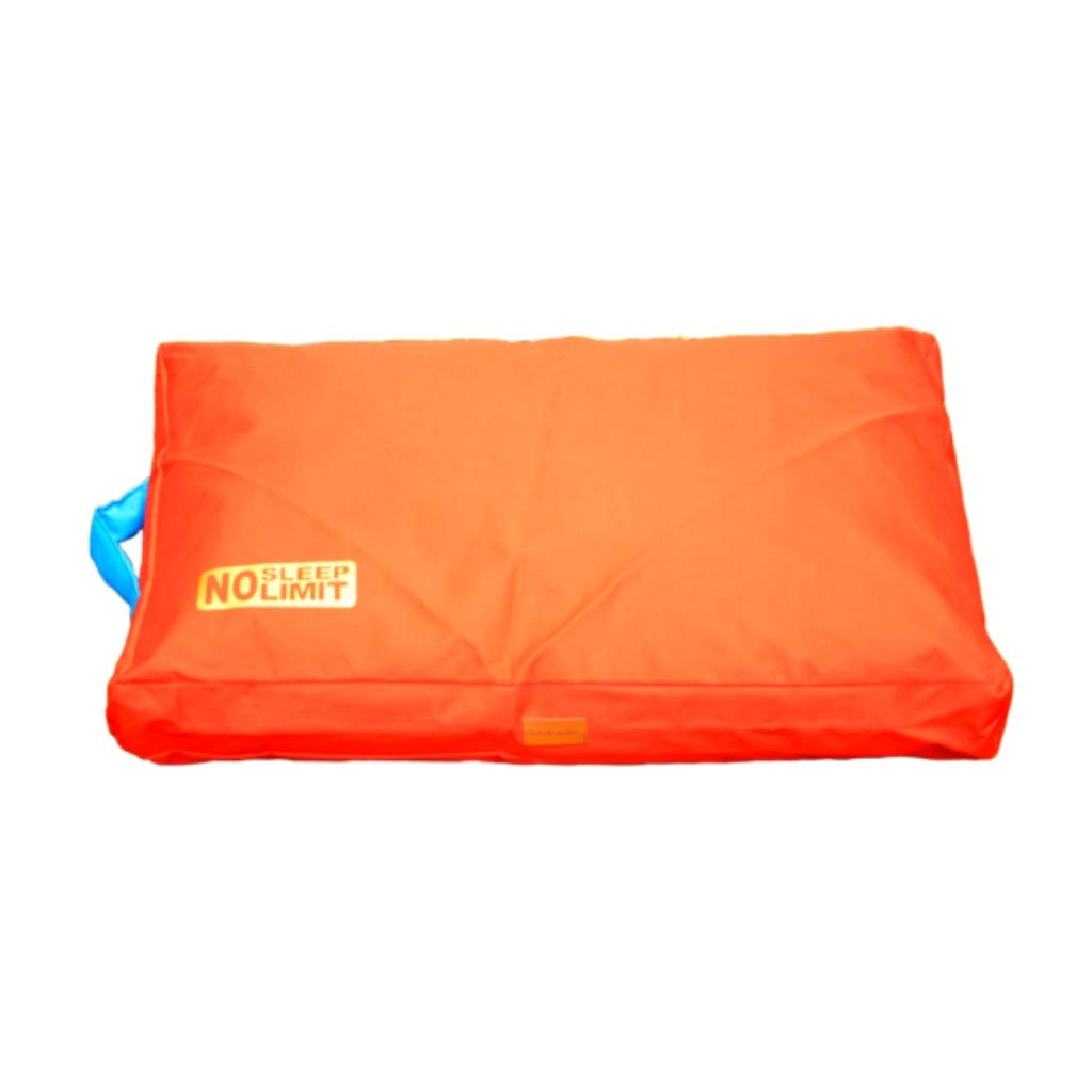 orange Oxford Waterproof Pet Bed For Summer-Durable pet mat,Anti-Microbial Removable Waterproof Washable Non-slip Cover,Cuddly Pet Bed with Durable Fabrics (color   orange)