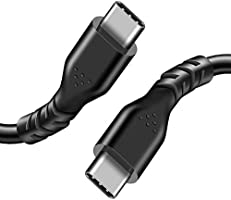 Fasgear USB C to USB C Cable, 1 Pack High-Speed and Fast Charge Data Transfer Sync Type C to Type C 2.0 Cable
