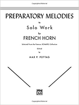 ??TOP?? Preparatory Melodies To Solo Work For French Horn (from Schantl). shock announce Helping Dutch screened ahora