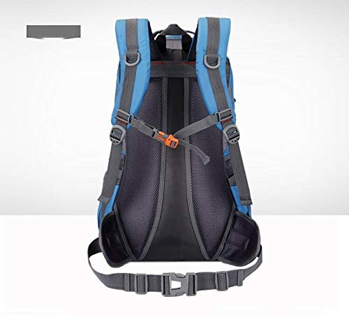 Blue Capacity Sports New Mountaineering Outdoor Travel Bag 50l Riding Backpack Hiking Female Male Waterproof Grossartig Large Camping fwva0Sxqq