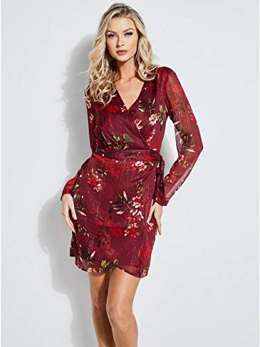 GUESS Women's Long Sleeve Camilla Dress