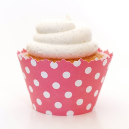 Simply Wrappers Polka Dots Cupcake Wrappers (Bubblegum -