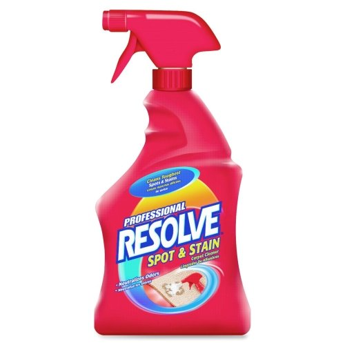 Wholesale Casket of 20 - Reckitt & Colman Resolve Carpet Spot Cleaner-Carpet Spot Cleaner, 32 oz