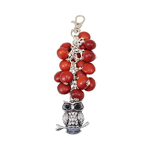 Owl Easy Clasp Keychain for Women - Blessing Pendant Protection Good Luck Gift ()