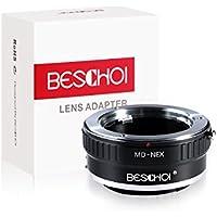 Beschoi Lens Mount Adapter for Minolta MD MC Lens to Sony NEX E-Mount Camera,fits Sony NEX-3 NEX-3C NEX-5 NEX-5C NEX-5N NEX-5R NEX-6 NEX-7 NEX-F3 NEX-VG10 VG20 etc