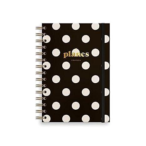 Amazon.com : Charuca pls09 - Planner with Lid, Black ...