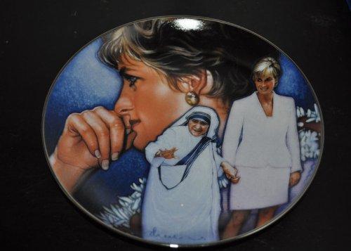 (Princess Diana Fine Porcelain Plate --