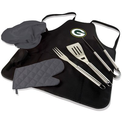 BBQ Apron Tote Pro NFL Team: Green Bay Packers by PICNIC TIME