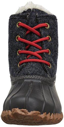 206 Collective Women's Rainier Duck Boot Rain Black/Gray