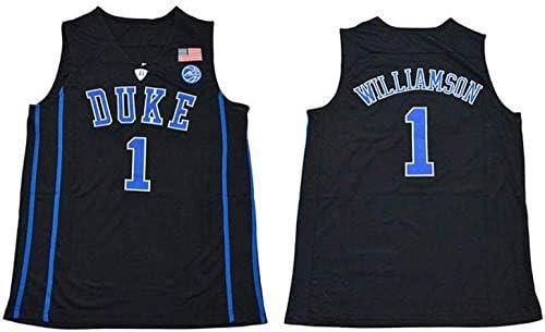 Top De Chaleco con Camiseta Bordada En Azul Y Negro Duke De NBA Zion Williamson Duke,A-S: Amazon.es: Hogar