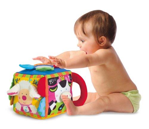 41gb2aDPKQL - Melissa & Doug K's Kids Musical Farmyard Cube Educational Baby Toy