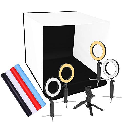 "Emart 24"" x 24"" Photo Portable Studio Kit Folding Photo Box"