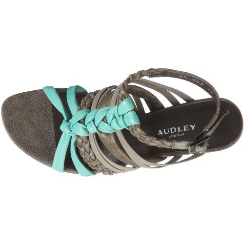 Audley Sandal 14913 Damen Sandalen/Fashion-Sandalen Braun/Mint/Slate/Kaki