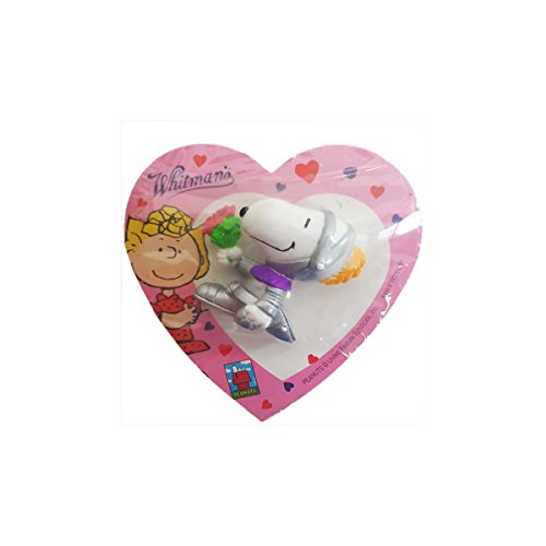 (2004 Peanuts Valentine's Knight Snoopy Figure Whitman's Sampler 1.75 oz - Collector Item Only )