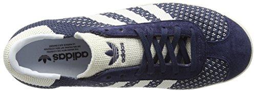 Adidas White Gazelle chalk nemesis Basse off Uomo Da Scarpe Ginnastica Primeknit White Blu 667wqrf