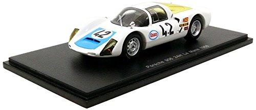 Spark – Porsche 906/6 – Le Mans 1968 – Maßstab 1/43, s4685, weiß/blau