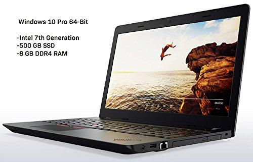 Price comparison product image Lenovo ThinkPad E570, Intel i5-7200, 8GB, 500GB SSD, Windows 10 Pro 64