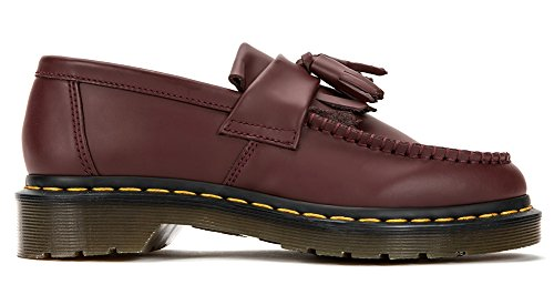 Dr 5 Martens Womens UK R22209 Stitch Adrian Loafer Red Cherry Tassel Yellow US 3 PPpx6rdqw