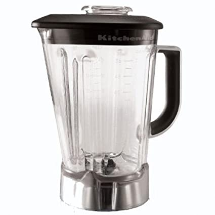 amazon com kitchenaid 56 ounce blender pitcher with black lid