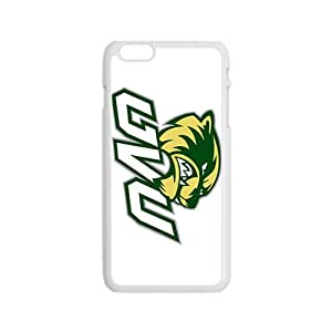 NCAA Utah Valley Wolverines Primary 2013 White Phone Case for iPhone 6