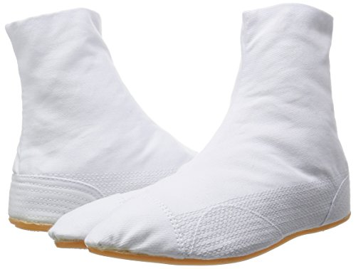 Y Directo De marugo Clips nuitsuke Acolchacho Japon Zapatos Jikatabi 5 Blanco Cosido Ninja 8ZnqSt
