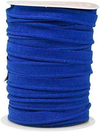 3m 18mm Azul Claro Encaje Ribete de costura plana LA007 Aussie vendedor