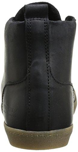 JACK & JONES Jj Brother Leather Casual Prm Herren Hohe Sneakers Schwarz (Black)