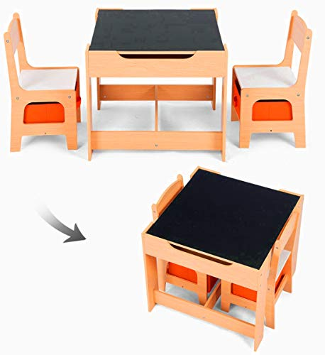 STS SUPPLIES LTD Book Nook For Kids Table Chair Set For Art Study - Book table for dinner
