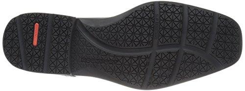Rockport Mens Style Future Bike Toe Slip On Oxford Black Leather