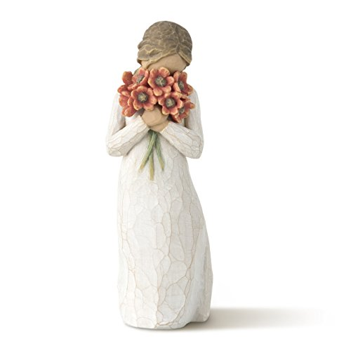Willow Tree Surrounded by Love, sculpted hand-painted figure ()