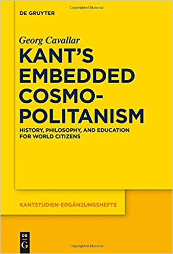 Facile ebook télécharger gratuitement Kant's Embedded Cosmopolitanism (Kantstudien-Erganzungshefte) (Littérature Française) PDF iBook PDB 3110438496