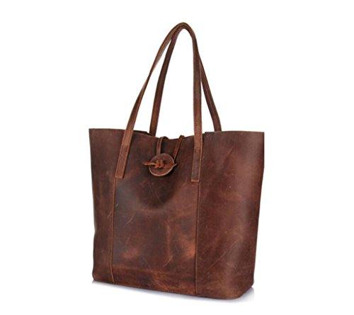 bambino portafoglio borsa mano a borsa borsa brown Tote borsa brown SHOUTIBAO perfetto a tracolla regalo Uqg8nv