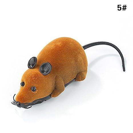 oobest Mando a distancia para gatos, juguetes, ratas, mascotas, juguete divertido, ratón controlado inalámbrico: Amazon.es: Productos para mascotas