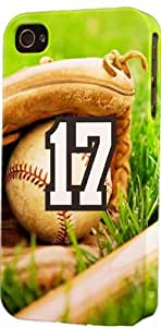iphone covers Baseball Sports Fan Player Number 17 Snap On Flexible Decorative Iphone 6 plus Case WANGJING JINDA