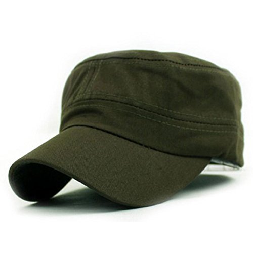 Green Military Cap - 7