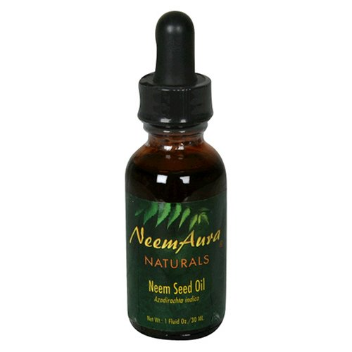 Neemaura Naturals Neem Seed Topical Oil, 1-Ounce (30 ml), (Pack of -