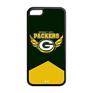 Hard Case Cover for iPhone 5c Strong Protect Case Cute Green Bay Packers Case Perfect as Christmas gift(5)